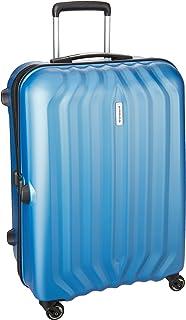 Aristocrat Aston Polycarbonate 79 cms Blue Hard Sided Suitcase (ASTON79TATB)