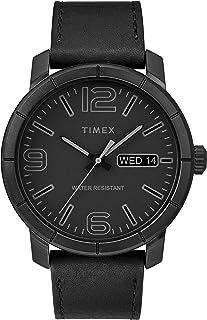 Timex Mens Quartz Watch, Analog Display And Leather Strap - TW2R64300