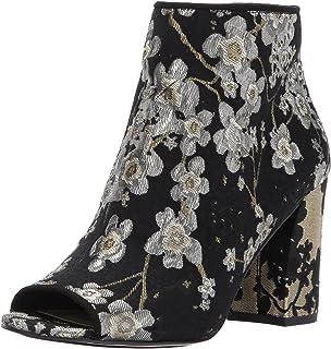 جزمات للكاحل قماش هايود للنساء من ناين ويست