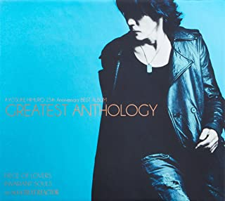 氷室京介 25th Anniversary BEST ALBUM GREATEST ANTHOLOGY(初回限定盤)