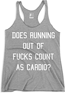 Gym Class Funny Workout Tank Top Gray