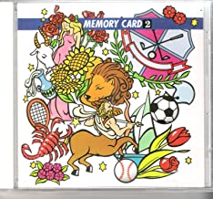 JANOME MEMORY CARD EMBROIDERY CARD DESIGN (Memory Card 2)