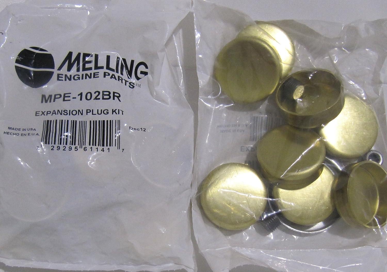 Brand new Melling MPE-104BR shipfree Freeze Kit Plug