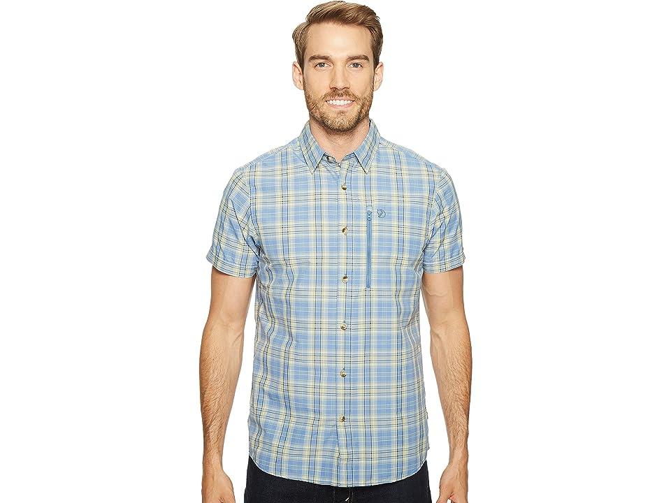 Fjallraven Abisko Hike Shirt Short Sleeve (Blue Ridge) Men