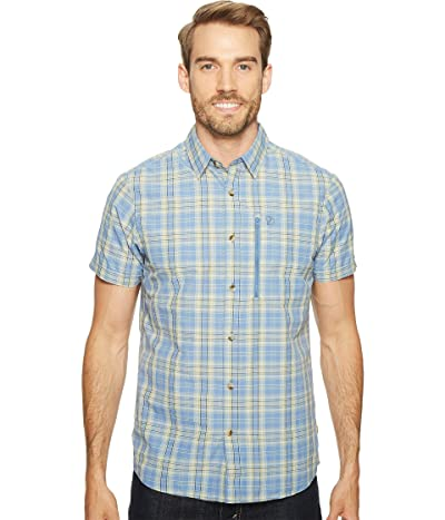 Fjallraven Abisko Hike Shirt Short Sleeve (Blue Ridge) Men