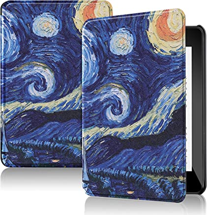 Amazon New Kindle Paperwhite 2018 (10th Gen) Case, IVSO Ultra Slim Stand Cover Case for Amazon New Kindle Paperwhite 2018 (10th Gen) Tablet,(Only Fits 10th Generation, 2018 Release) Blue Sky