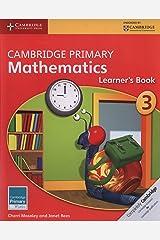 Cambridge Primary Mathematics Stage 3 Learner's Book 3 (Cambridge Primary Maths) Paperback