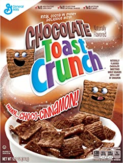 General Mills Chocolate Toast Crunch Cereal, 12.7 Ounce