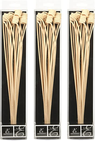 Hosley Set Of 3 12 5 High Botanical Diffuser Reeds Used As A Decorative Centerpiece In Your Living Dining Room Ideal Gift For Wedding Special Events Aromatherapy Spa Reiki Meditation O9