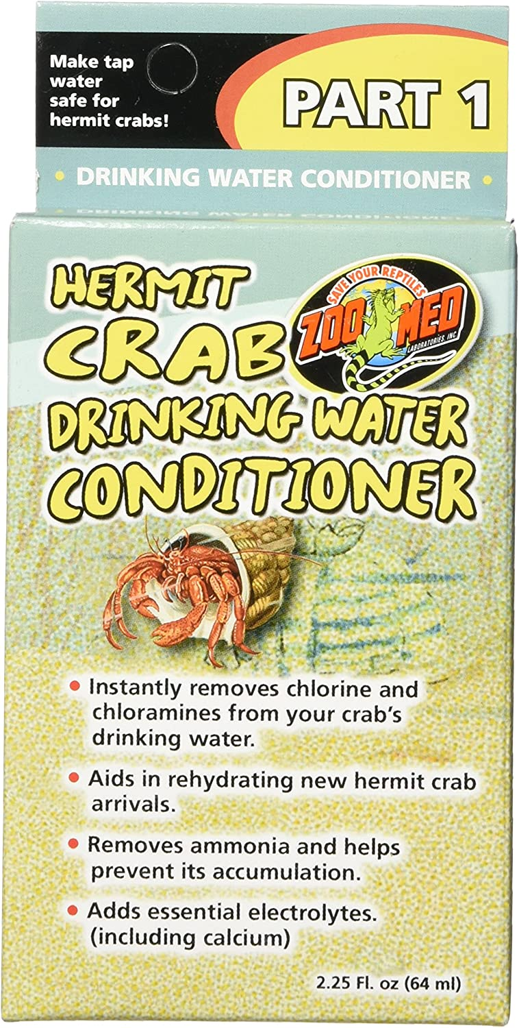 Zoo Med Hermit Crab free Very popular shipping Conditioner Drinking Water