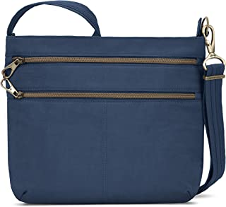 Travelon Anti-theft Signature Double Zip Crossbody