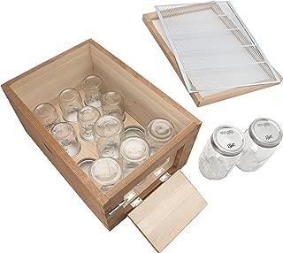 mason jar beehive kit