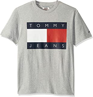 Tommy Hilfiger Tommy Jeans Men's Short Sleeve Graphic Logo T Shirt