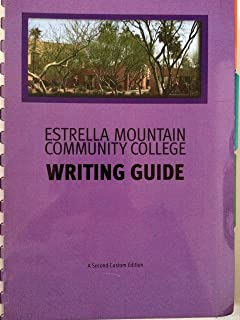 Estrella Mountain Community College Writing Guide (With Pearson Online Access)
