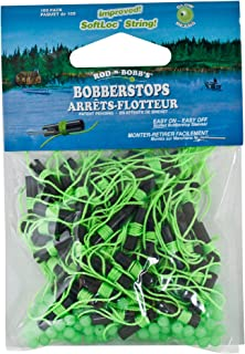 ROD N BOBBS Fishing Bobber Float Stops with Glow Beads