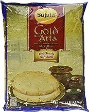 Sujata GOLD Atta - 100% Sharbati Whole Wheat Flour 4lb