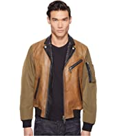 DSQUARED2 - Military Glam Kiodo Bomber