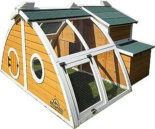 Pets Imperial Green Ritz Chicken Coop Hen House Poultry Nest Box Ark Rabbit Hutch Run