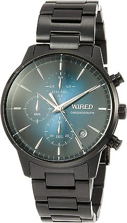 [ワイアード]WIRED 腕時計 WIRED TOKYO SORAモデル ネイビー文字盤 10気圧防水 AGAT422 メンズ