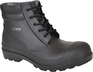 Dickies Cantone Safety Boot in pelle punta in acciaio LAVORO WORKWEAR MIELE
