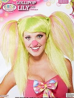 Women's Circus Sweetie Costume Wig