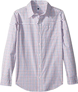 Long Sleeve Button-Up Shirt (Toddler/Little Kids/Big Kids)