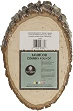 Walnut Hollow 27669 Basswood Country Round, Small for Woodburning, Home Décor and Rustic Weddings