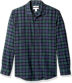 Men's Regular-Fit Long-Sleeve Flannel Shirt