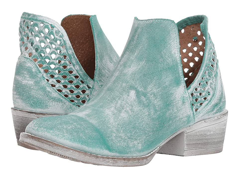 Corral Boots Q5026 (Turquoise) Cowboy Boots