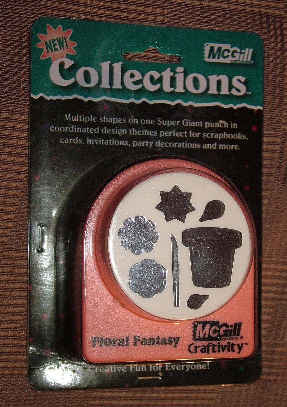 MCGILL CRAFTIVITY - Floral Fantasy - Large 3 1/2