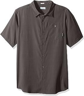 Columbia Mossy Trail Kurzarm Shirt Camiseta para Hombre. Hombre