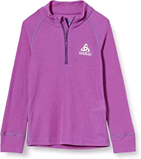 Odlo Bl Top Turtle Neck L/S Half Zip Active Warm Camiseta Unisex niños