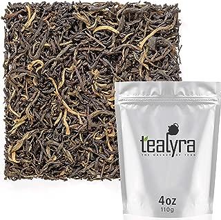 Tealyra - Jasmine Black - Rare Black Loose Leaf Tea - Best Chinese Jasmine Tea - Medium Caffeine - 110g (4-ounce)