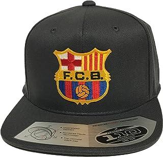 FC Barcelona Soccer Hat Dark Gray Flexfit Technology 110