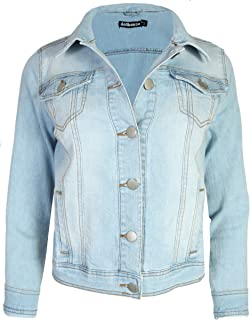 Women's Basic Denim Jean Jacket