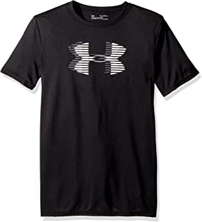 Under Armour boys Tech Big Logo Solid Sport Tops