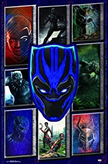 Trends International MCU - Black Panther - Collage Wall Poster, 22.375