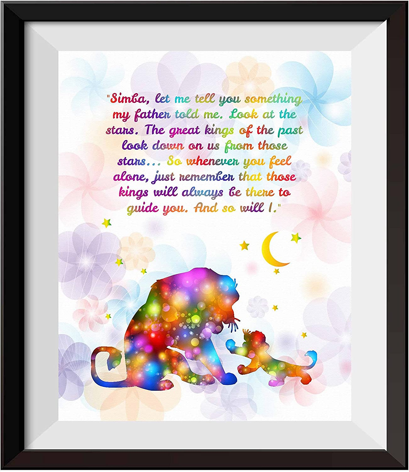 Uhomate The Lion Large-scale sale King Simba Ornaments Wall Spring new work Prints Home Ar Canvas