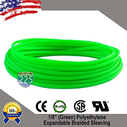 Seven-Color Mixed Weave Expandable Braided Cable Sleeving//Sheathing 4mm-16mm