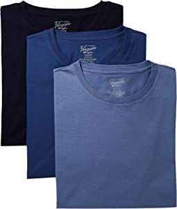 Original Penguin Slim Fit 3-Pack Crew T-Shirt