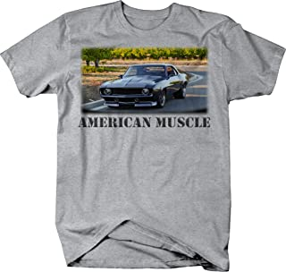 0bae0318 OS Gear American Muscle Chevy Racing Hotrod Camaro Classic Show Tshirt