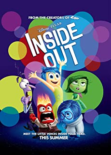 Inside Out - Movie Poster 24 x 36 , Glossy Finish (Thick): Joy, Fear, Anger, Disgust, Sadness by WMG