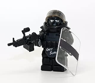 Modern Brick Warfare Custom Juggernaut Army Assault Soldier Call of Duty Clear Custom Minifigure