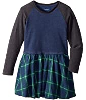 Toobydoo - Flannel Skirt Dress (Toddler/Little Kids/Big Kids)