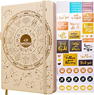 $32 » Law of Attraction Planner - 2021 Deluxe Weekly, Monthly Planner, a 12 Month Journey to Increase Productivity & Happiness - Life Organizer, Gratitude Journal, and Stickers