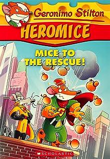 Geronimo Stilton Heromice: Mice of The Rescue - 1 by Geronimo Stilton - Paperback