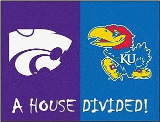 FANMATS NCAA House Divided Nylon Face House Divided Rug