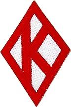 Kappa Alpha Psi Fraternity Diamond Embroidered Appliqué Patch Sew or Iron On Greek Blazer Jacket Bag Nupe (Diamond Plain Patch)