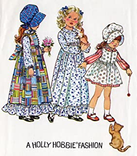 Simplicity 5996 Holly Hobbie Prairie Dress and Pinafore Vintage Sewing Pattern Check Offers for Size