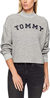 TOMMY HILFIGER Women's Logo Cropped Track Top